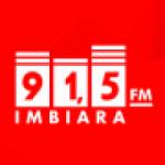 Logo da emissora Rádio Imbiara 91.5 FM