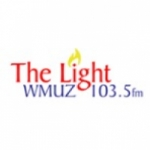Logo da emissora WMUZ 103.5 FM The Light