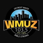 Logo da emissora WMUZ 103.5 FM The Light