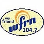 Logo da emissora Radio WFRN 104.7 FM
