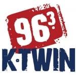 Logo da emissora K-TWIN 96.3 FM