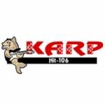 Logo da emissora Radio KARP 106.1 FM