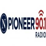 Logo da emissora KSRQ 90.1 FM
