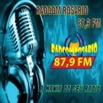 Logo da emissora Rádio Comunitária Rosário 87.9 FM