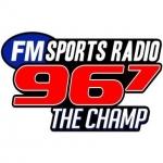 Logo da emissora WUJM 96.7 FM