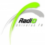 Logo da emissora Rádio Universo FM
