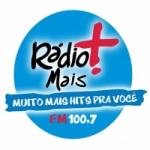 Logo da emissora Rádio Mais 100.7 FM