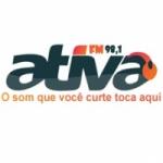 Logo da emissora Rádio Ativa 98.1 FM