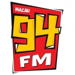 Logo da emissora Rádio Macau 94.9 FM