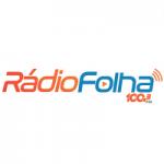Logo da emissora Rádio Folha 100.3 FM