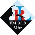 Logo da emissora Rádio Liberdade Dili 95.8 FM