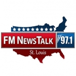 Logo da emissora Radio KFTK News 97.1 FM