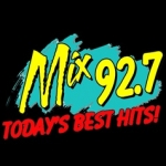 Logo da emissora KLOZ 92.7 FM
