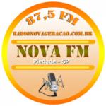 Logo da emissora Rádio Nova Geração 87.5 FM