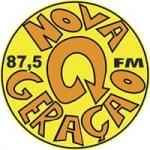 Logo da emissora Rádio Nova 87.5 FM