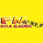 Logo da emissora Rádio Boa Saúde 87.9 FM