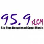 Logo da emissora KLCM 95.9 FM