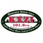 Logo da emissora KXZI 101.9 FM