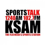 Logo da emissora KSAM 1240 AM 102.7 FM