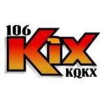 Logo da emissora KQKX 106.1 FM