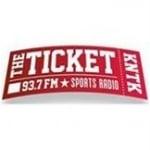 Logo da emissora KNTK 93.7 FM