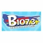Logo da emissora Radio KBBK 107.3 FM