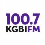 Logo da emissora Radio KGBI 100.7 FM