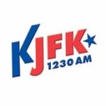 Logo da emissora Radio KJFK 1230 AM