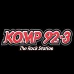 Logo da emissora KOMP 92.3 FM