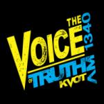Logo da emissora KVOT 1340 AM