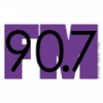 Logo da emissora WGCC 90.7 FM