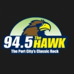 Logo da emissora WKXS 94.5 FM