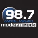 Logo da emissora WRMR 98.7 FM