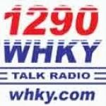 Logo da emissora WHKY 1290 AM