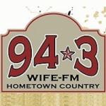 Logo da emissora Radio WIFE 94.3 FM