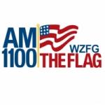 Logo da emissora WZFG 1100 AM