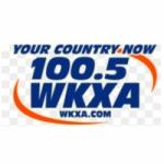 Logo da emissora WKXA 100.5 FM