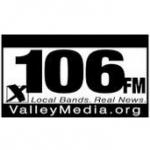 Logo da emissora KQRP 106.1 FM