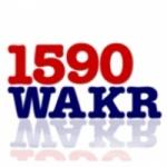 Logo da emissora WAKR 1590 AM