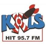 Logo da emissora KXLS 95.7 FM