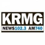 Logo da emissora KRMG 740 AM