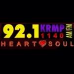 Logo da emissora KRMP 1140 AM