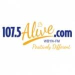 Logo da emissora WBYN 107.5 FM