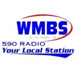 Logo da emissora WMBS 590 AM