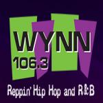 Logo da emissora WYNN 106.3 FM
