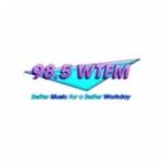 Logo da emissora WTFM 98.5 FM