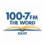 Logo da emissora KKHT 100.7 FM