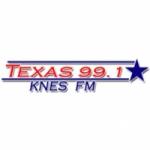 Logo da emissora KNES 99.1 FM