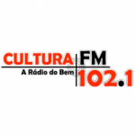 Logo da emissora Rádio Cultura 102.1 FM