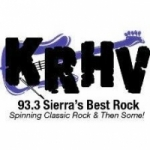 Logo da emissora Radio KRHV 93.3 FM